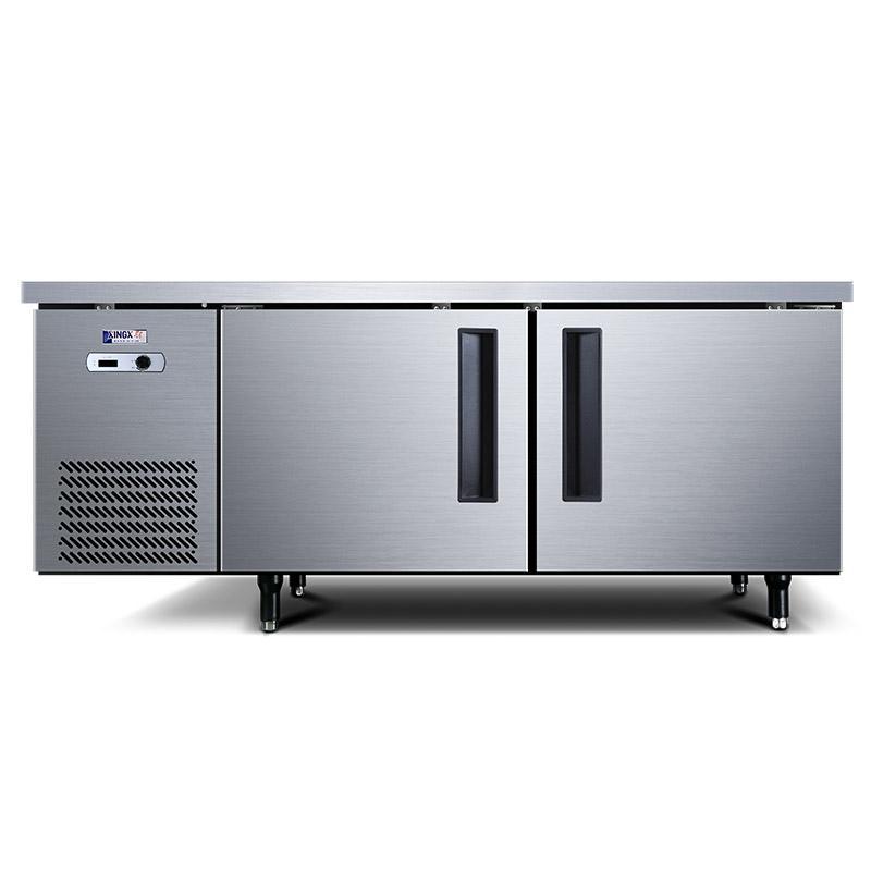 星星 1.5米冷藏商用卧式厨房工作台,TC-368Y,宽80CM,电子温显
