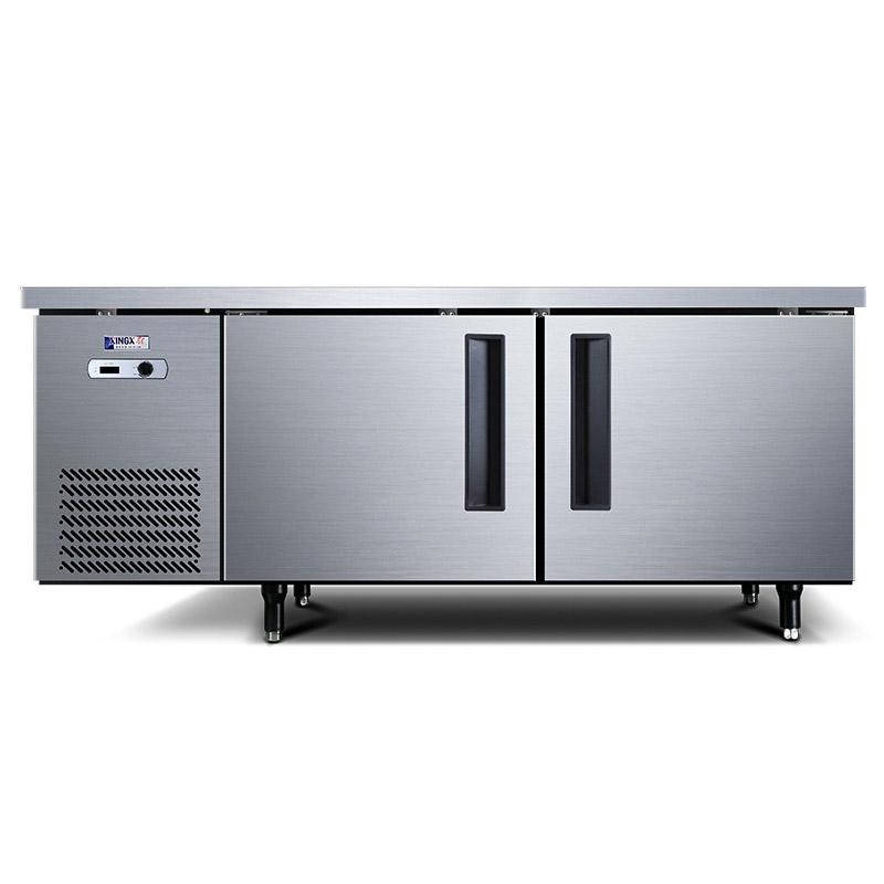星星 1.8米冷藏商用卧式厨房工作台,TC-468Y,宽80CM,电子温显