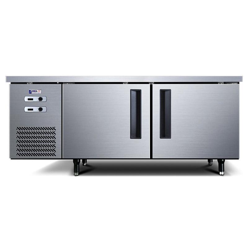 星星 1.8米冷藏冷冻商用厨房双温工作台,TS-458Y,宽80CM,电子温显