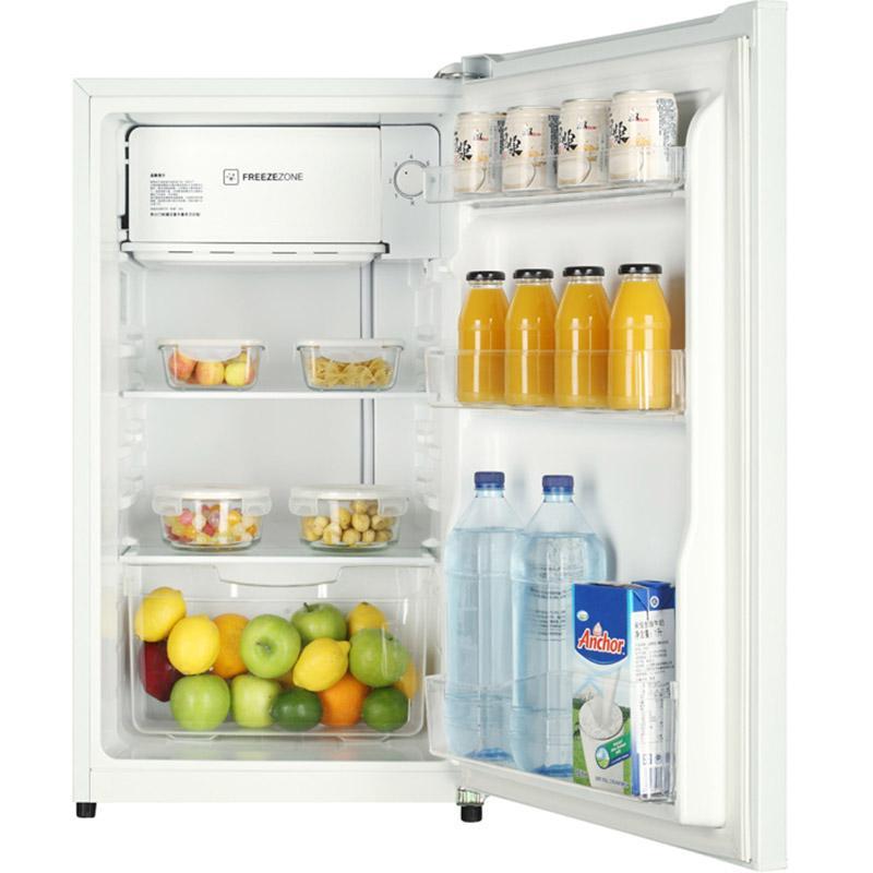 海尔 93L迷你单门冷藏微冻一体冰箱,BC-93TMPF,直冷,一级能效