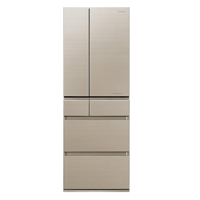 松下 498L六门冰箱,NR-F503HX-N5,日本原装进口,nanoeX健康科技,风冷无霜制冰WIFI