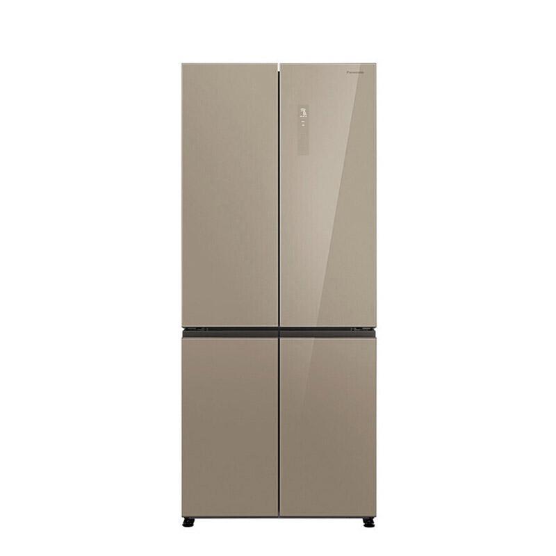 松下 498L十字对开门冰箱,NR-D501CG-XN, 净味,风冷无霜,变频静音