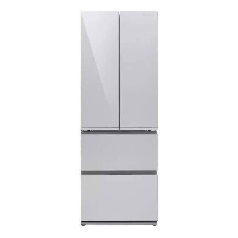 松下 380L四门冰箱,NR-D380TM-XS,风冷无霜,钢化玻璃面板