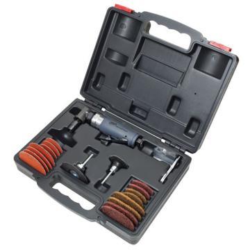 英格索兰气动修磨机套装,重级直角式,1/4夹头,250W,302BK