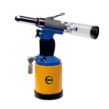 巨霸拉钉枪,1/4油压式(吸钉式),拉力1723KG,行程22.5mm,AT-6319