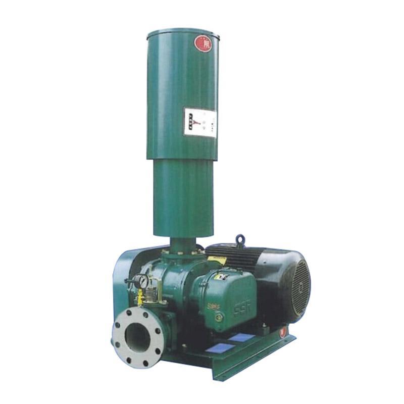 章鼓 曝气罗茨风机(SSR皮带式),SSR-100H(配4极,15KW电动机),流量7.5m3/min,升压68.6kPa