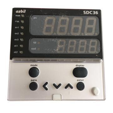山武 温度显示调节器,C36TR1UA2300