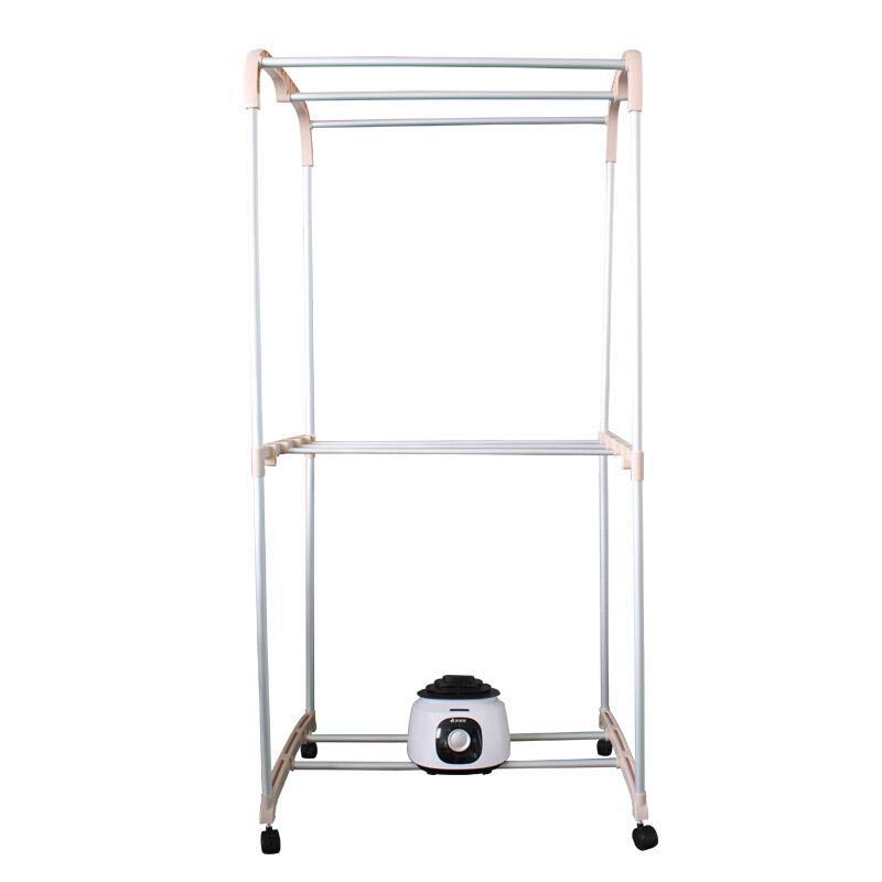 艾美特 布罩衣柜式干衣机,HGY1017P-W,干衣容量10公斤,1000W,双层机械式
