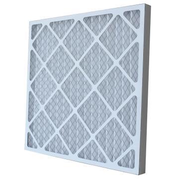 FLMFIL 褶形板式纸框初效空气过滤器,245*245*21mm,过滤效率G4