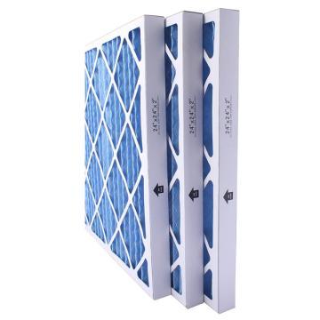 FLMFIL 高效褶形板式纸框初效空气过滤器,594*594*44mm,过滤效率G4