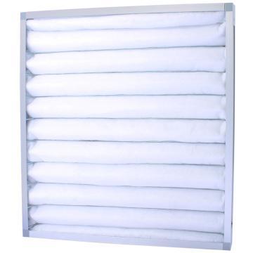FLMFIL 铝框板式可清洗初效空气过滤器,594*594*21mm,过滤效率G4