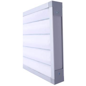 FLMFIL 铝框板式可清洗初效空气过滤器,292*594*46mm,过滤效率G4