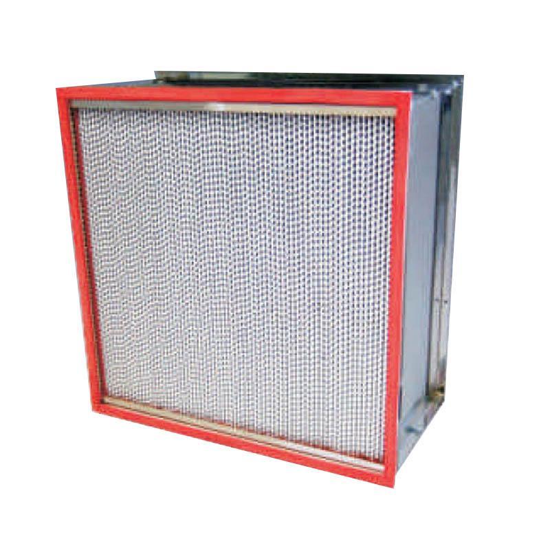 AAF Astrocel I(HCX)HT-250系列250℃不锈钢框耐高温高效过滤器,610×610×150mm,过滤效率H13