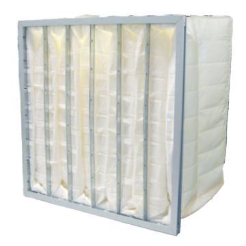 AAF 袋式中效空气过滤器,宽*高*厚890*500*380mm,效率F8、袋数10个、合成纤维、AL框,边框厚21mm