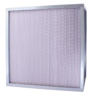 FLMFIL 镀锌框隔板型高效空气过滤器,610*610*292mm,过滤效率H13