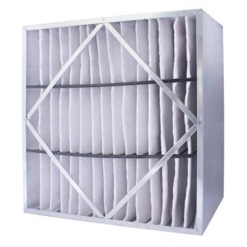 FLMFIL 镀锌框隔板型中效空气过滤器,594*594*150mm,过滤效率F7