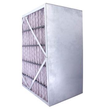 FLMFIL 镀锌框隔板型中效空气过滤器,594*594*292mm,过滤效率F7