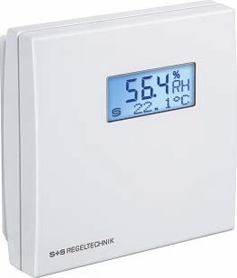 S+S 墙装湿度变送器,RFF-I DISPLAY