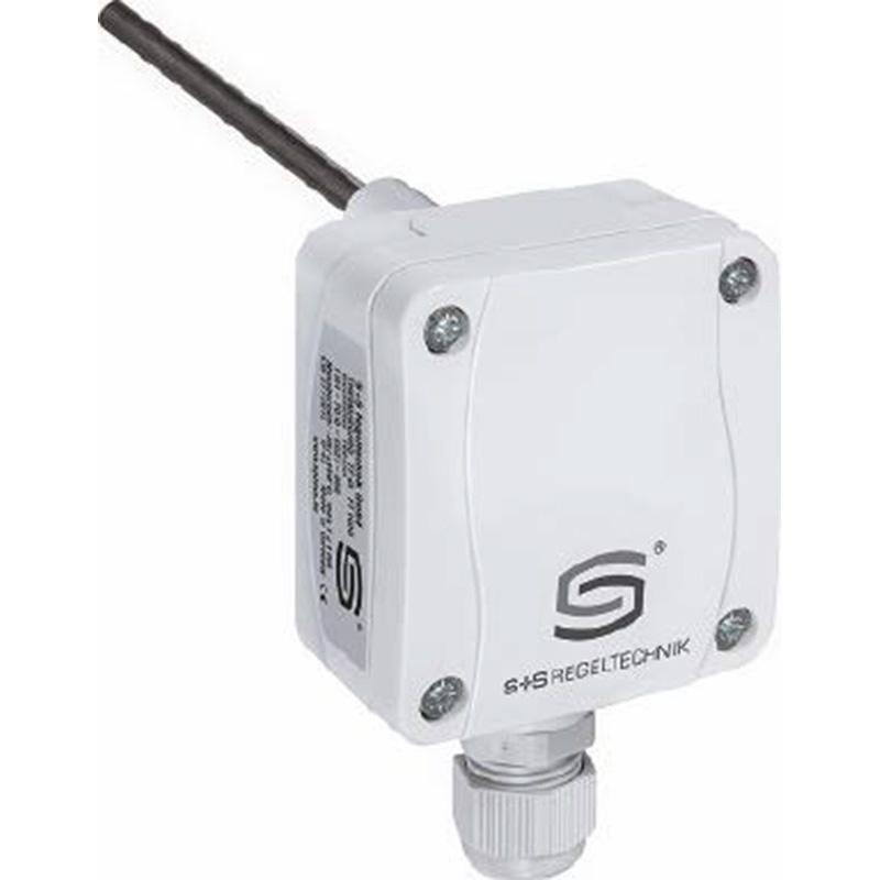 S+S 无源输出浸入式温度传感器,带套管,TF65 Ni1000 100MM+TH-VA100