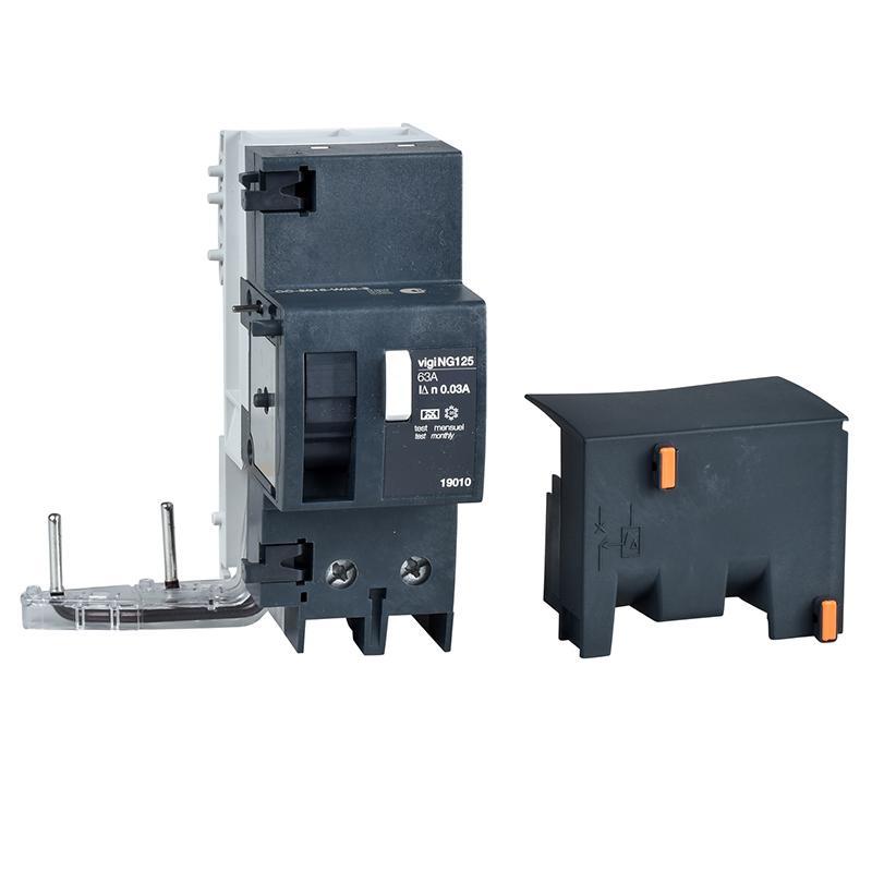 施耐德Schneider Vigi NG125剩余电流动作保护附件,AC class 63A 300mA 2P,19001