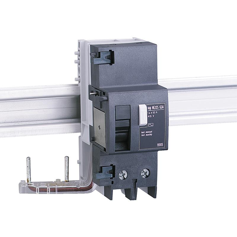 施耐德Schneider Vigi NG125剩余电流动作保护附件,AC class 63A 30mA 2P,19000