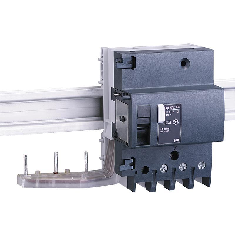 施耐德Schneider Vigi NG125剩余电流动作保护附件,AC class 63A 30mA 3P,19002