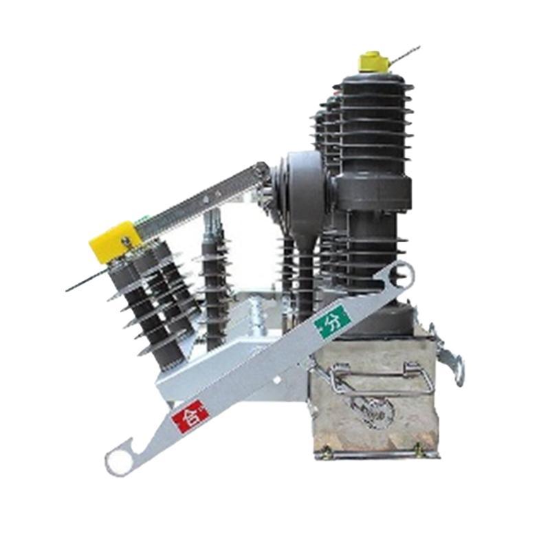 曙辰电气 10KV户外真空断路器,ZW32G-12/630A手动带隔离型