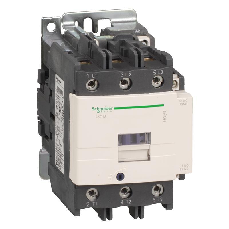 施耐德电气 接触器 LC1-D8011Q5C 380VAC 施耐德,LC1D80Q7C