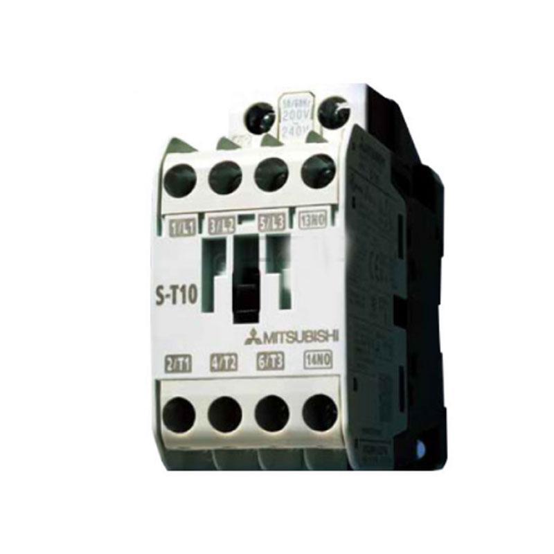 三菱MITSUBISHI 交流线圈接触器,S-T12 AC200V 1A1B C