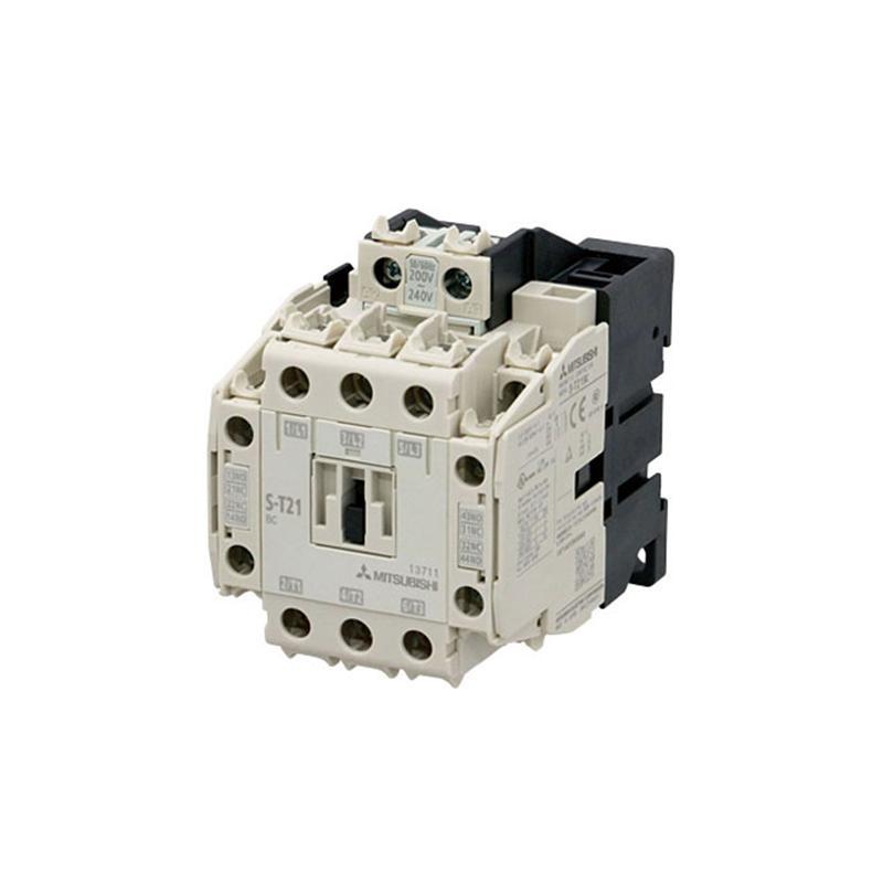 三菱MITSUBISHI 接触器,S-T21 AC200V 2A2B C