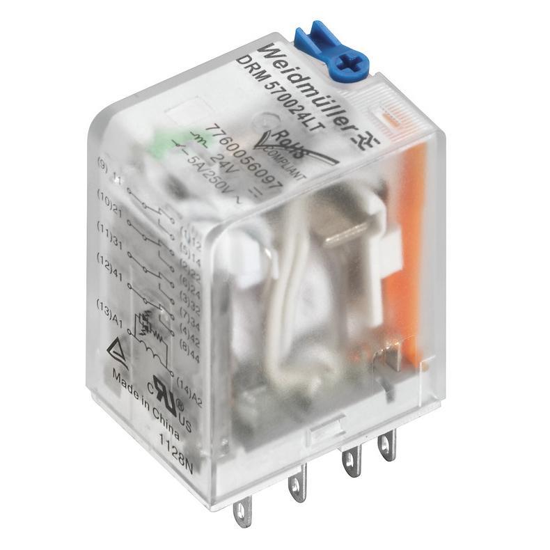 魏德米勒 中间继电器,DRM570110LT 7760056099(20的倍数起订)