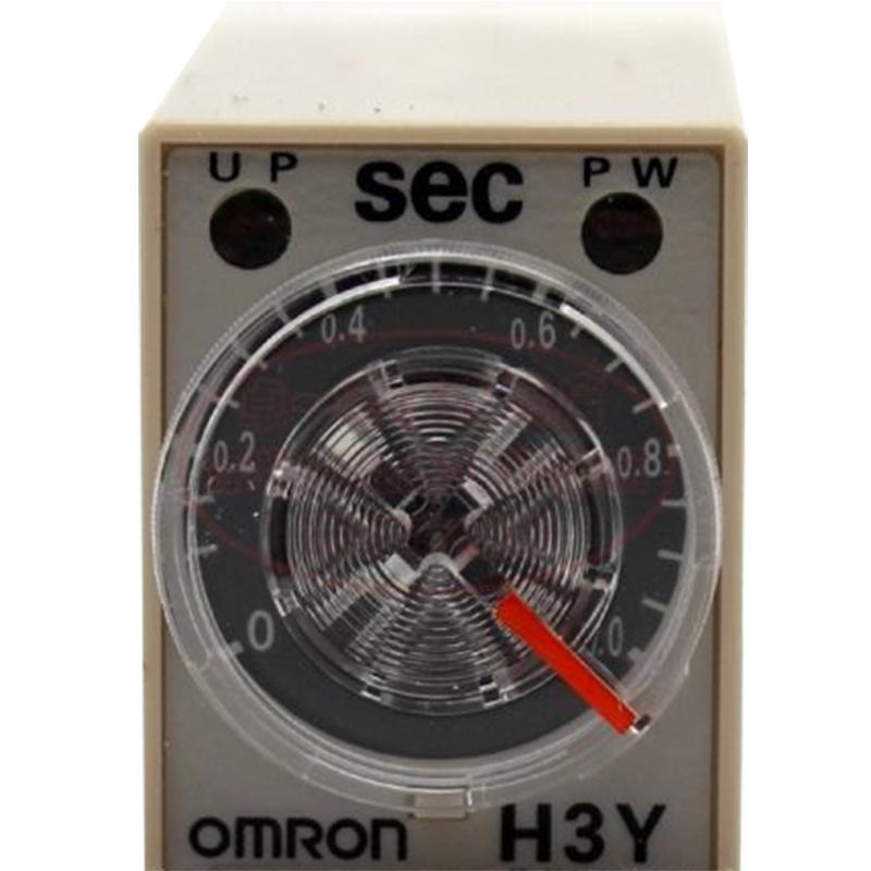 欧姆龙 时间继电器 H3Y-2-C AC220V 1S