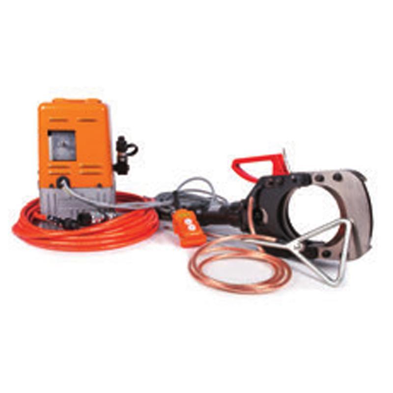 贝特 电动带电电缆防护安全切刀 切割φ132mm带铠装的铜/铝电缆 出力10T EICT-132-35KV
