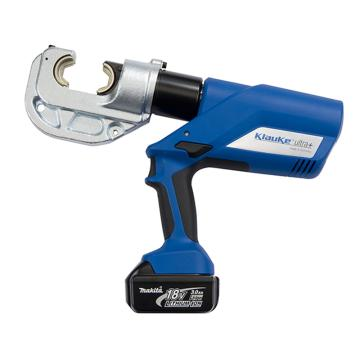 柯劳克充电式液压压线钳 120KN 压接能力16-400mm² EK12042L 带一电一充 8套模具