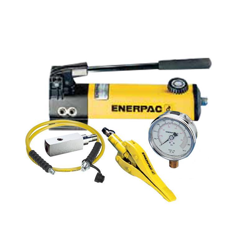 恩派克ENERPAC 一体式分离扩张器套件 WR5(含分离器*1+手动泵*1+3m软管*1+压力表*1+表座*1)