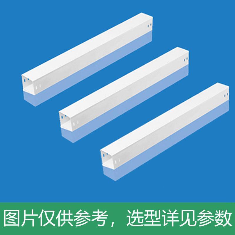 华荣 热浸镀锌金属线槽 高20mm宽40mm 正白色防火处理,单位:个