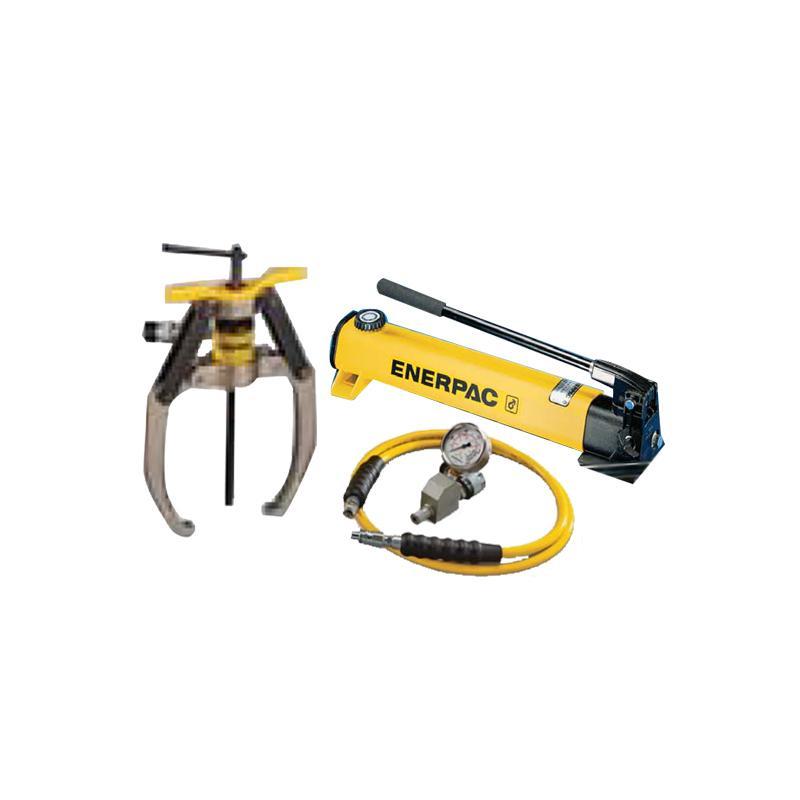 恩派克ENERPAC 自锁紧式液压拔轮器套件 10ton 3爪(含拔轮器+泵P392和油表表座油管) LGHS310H