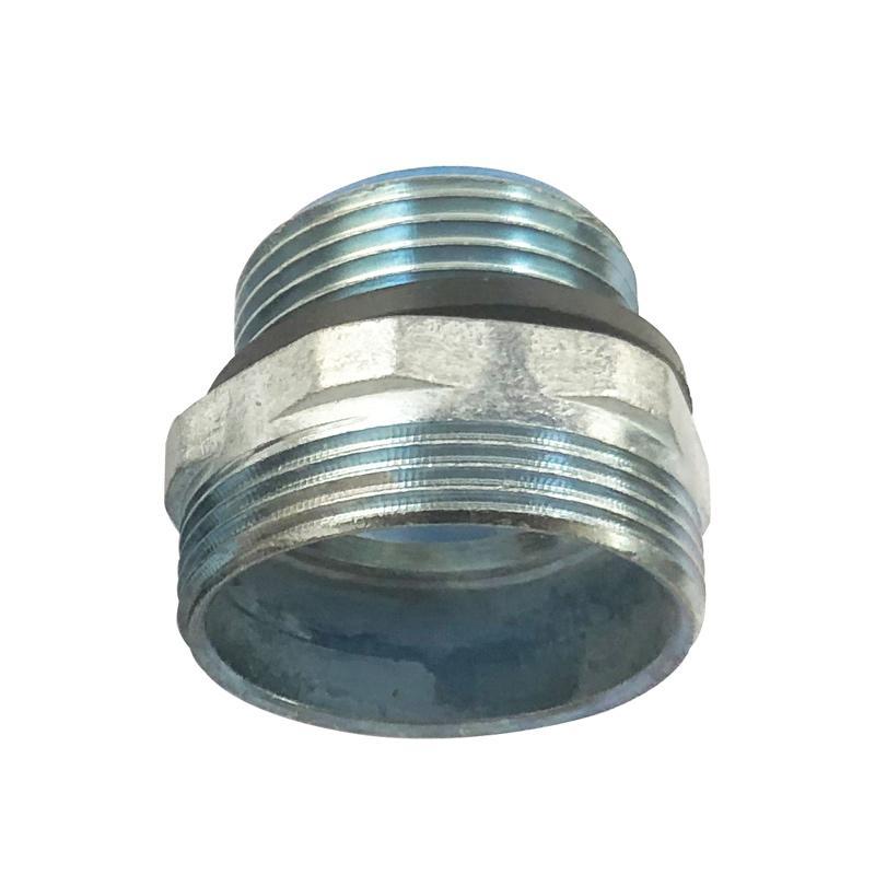 长虹塑料 外丝金属软管接头,Φ20/M20*1.5 ,DPJ-20/M20*1.5