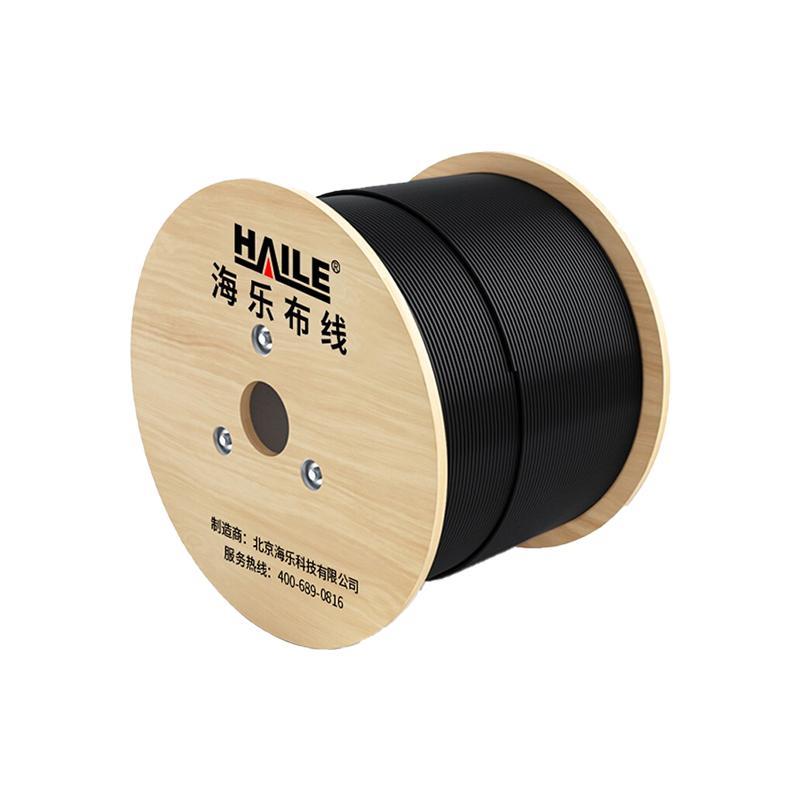 海乐 48芯室外非金属GYFTY-48B1.3光缆 层绞式单模光纤 防强电击穿 HT215-48SC 100米多买整条发货