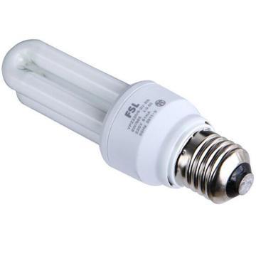 佛山照明 2U节能灯 8W E27 日光色(白光),单位:个