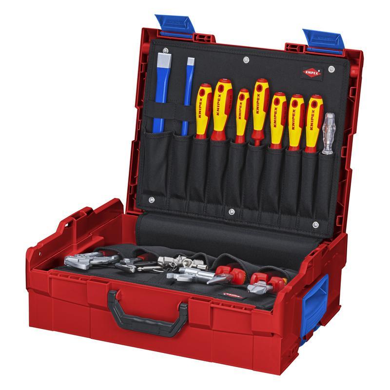 凯尼派克 KnipexL-Boxx® 水管工工具箱 52件套 00 21 19 LB S
