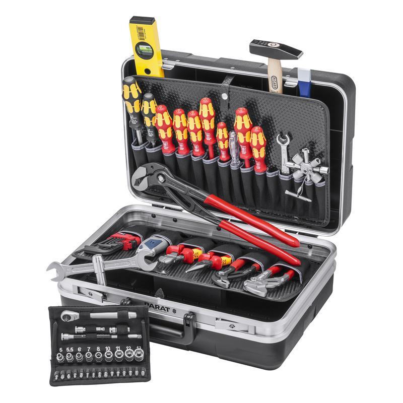 凯尼派克 Knipex 管道维护工具箱 52件组套 00 21 21 HK S