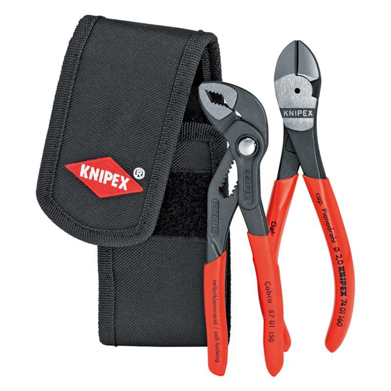 凯尼派克 Knipex 便携式钳子组套 2件套 00 20 72 V01