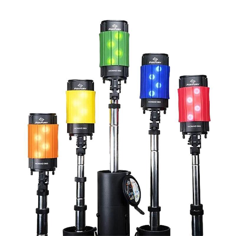 FoxFury Nomad 360 便携式移动照明LED灯 200-900,单位:个