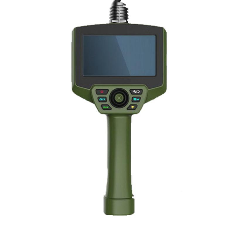 华鸣 全方位摇杆视频内窥镜,5显示器,800*480分辨率,5米长蛇管,HM6015