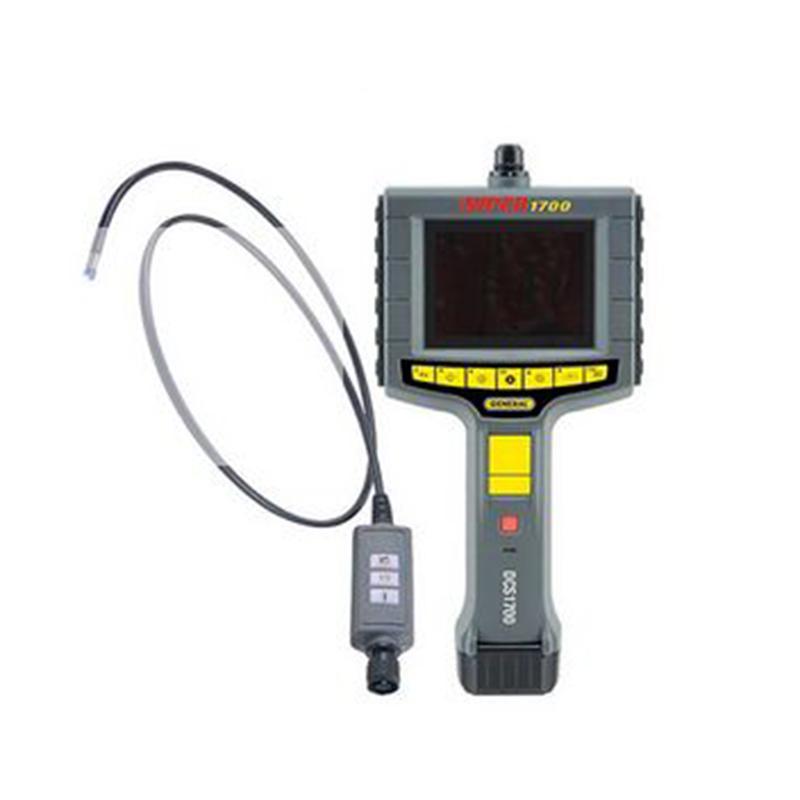 精耐高分辨率可记录工业视频内窥镜,摄像头分辨率640 x 480 ,DCS1700