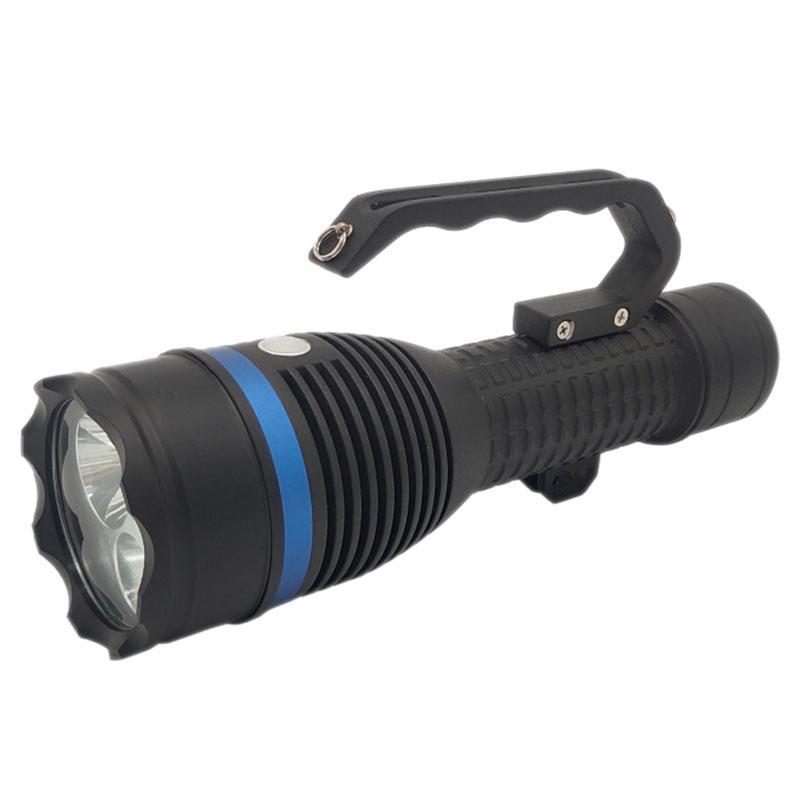 晶全照明 手提式防爆探照灯,BJQ6071,主灯12W,辅灯2×3W,单位:个