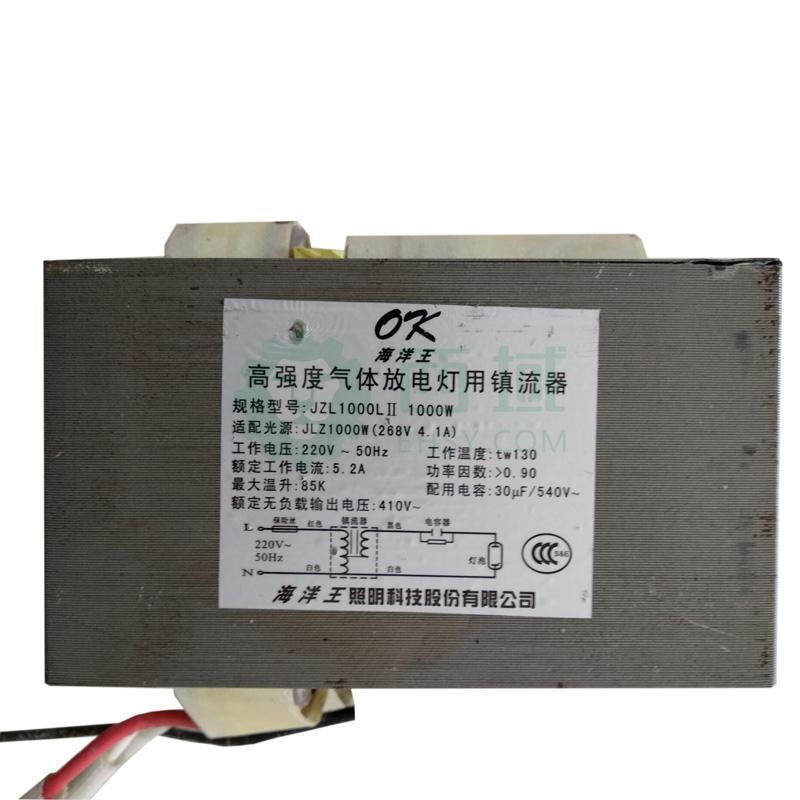 深圳海洋王 1000W 金卤灯镇流器,JLZ1000L11 单位:个