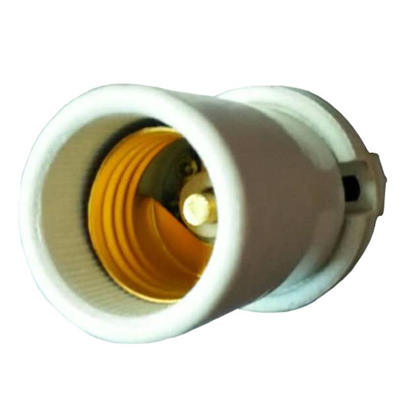E27灯头 陶瓷材质 含铜柱 单位:个