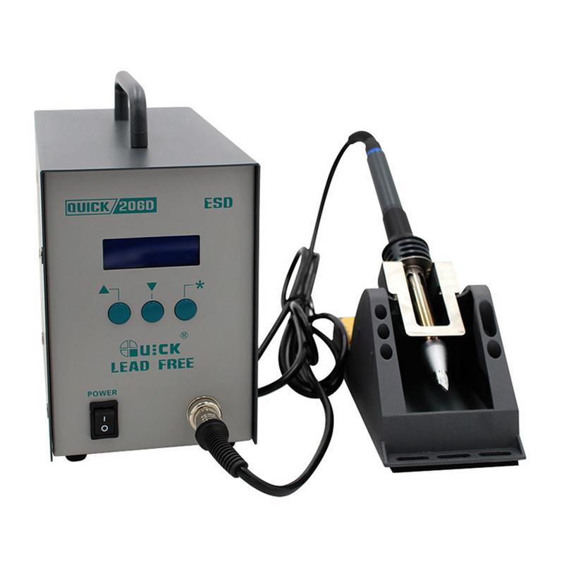 快克QUICK 大功率无铅焊台,320W,QUICK206D,数显烙铁智能焊台 电子焊台 电焊台 手机维修焊台